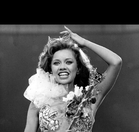 Remember  In 1984 Vanessa Williams became the first African-American Miss America but her title was taken away 10 months later when nude photos surfaced in Penthouse Magazine... ~D~