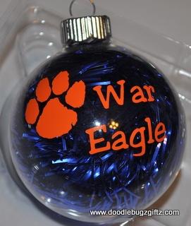 Auburn Christmas Ornament-
