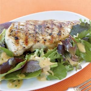 50 Chicken Dinners for the Busy Cook | Grilled Chicken with Mustard-Tarragon Sauce | MyRecipes.com