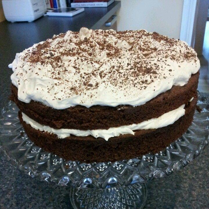 Cappuccino Cake - Mary Berry recipe
