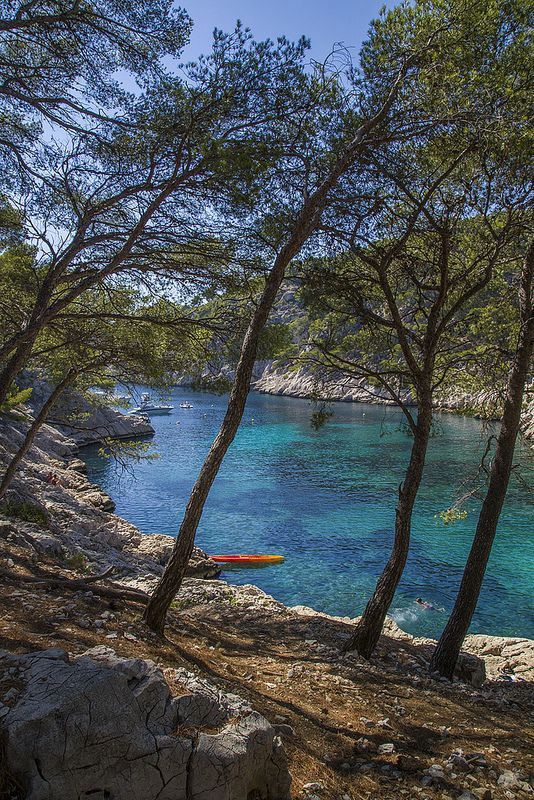 Calanques National Park, France (between Marseilles and La Ciotat)
