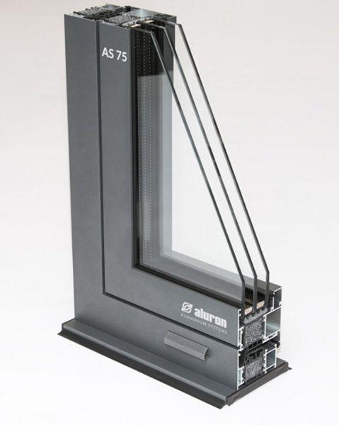 ALU Fenster ALURON System AS 75