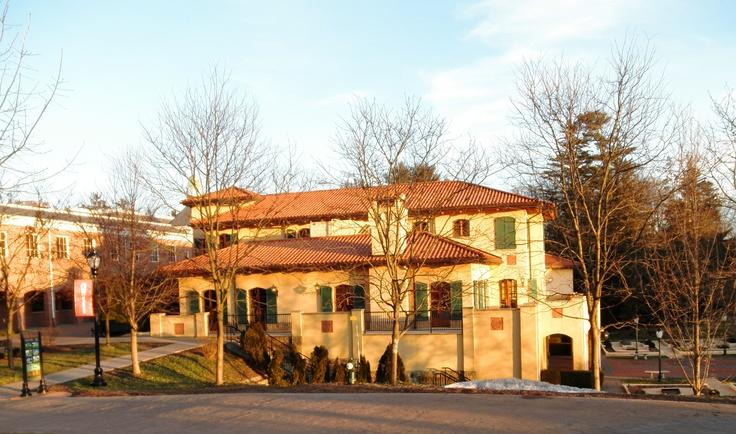 The beautiful Ristorante Caterina de Medici located at the Culinary Institute of America, Hyde Park, NY.  LOVE!!!