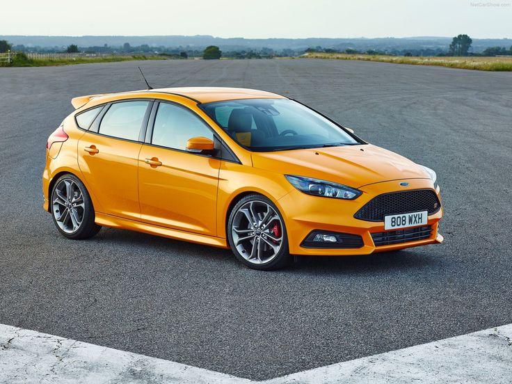 ford focus st in original tangerine scream colour focus st 3 pinterest ford focus ford and cars