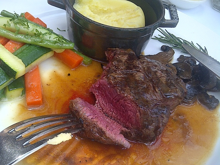 Medium Rare Fillet Mignon - at The Union