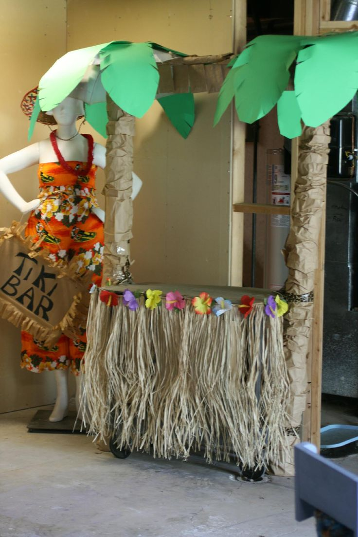 Classroom Ceiling Decoration ~ My tiki bar fun party decorations pinterest and