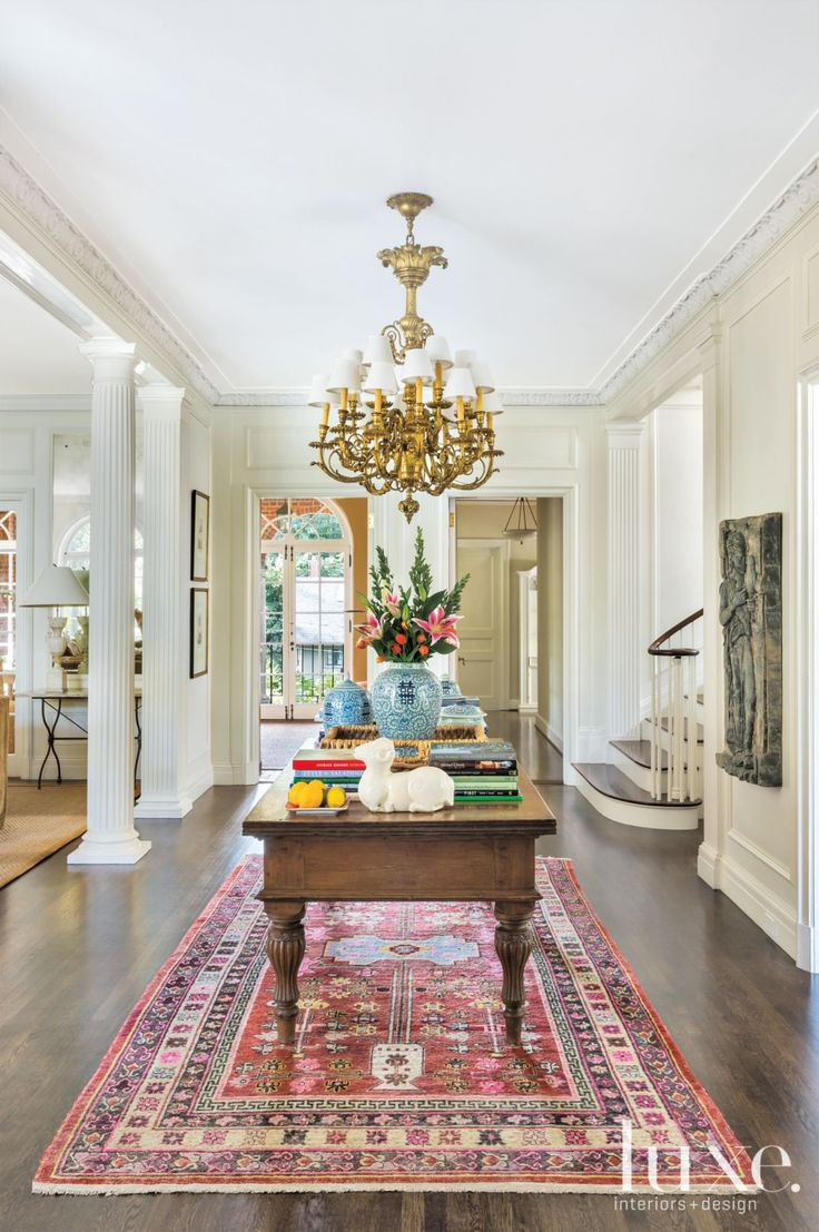 Traditional Cream Foyer LuxeSource Luxe Magazine The