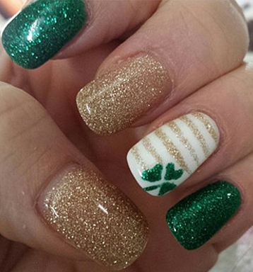 St. Patrick's Day Nail Art Ideas