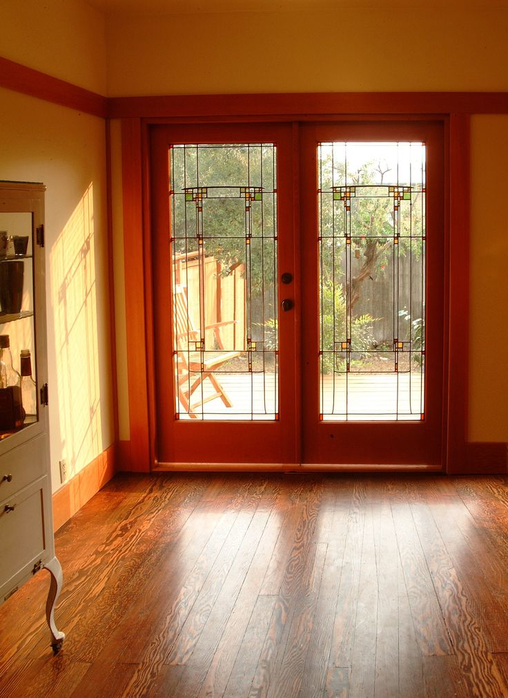 691 best images about craftsman style my way on pinterest for Craftsman french doors