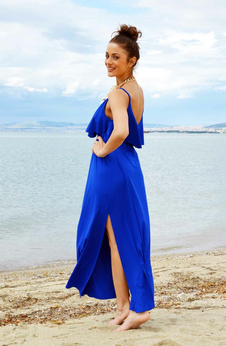 Crete Μάξι Φόρεμα
