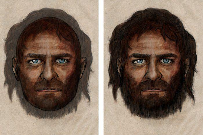 #Scienza, #storia #evoluzionismo: con la pelle scura e gli occhi azzurri l'uomo del #Mesolitico non doveva essere così male.