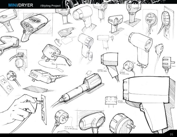 Concept Sketches by Paul Sukphisit at Coroflot