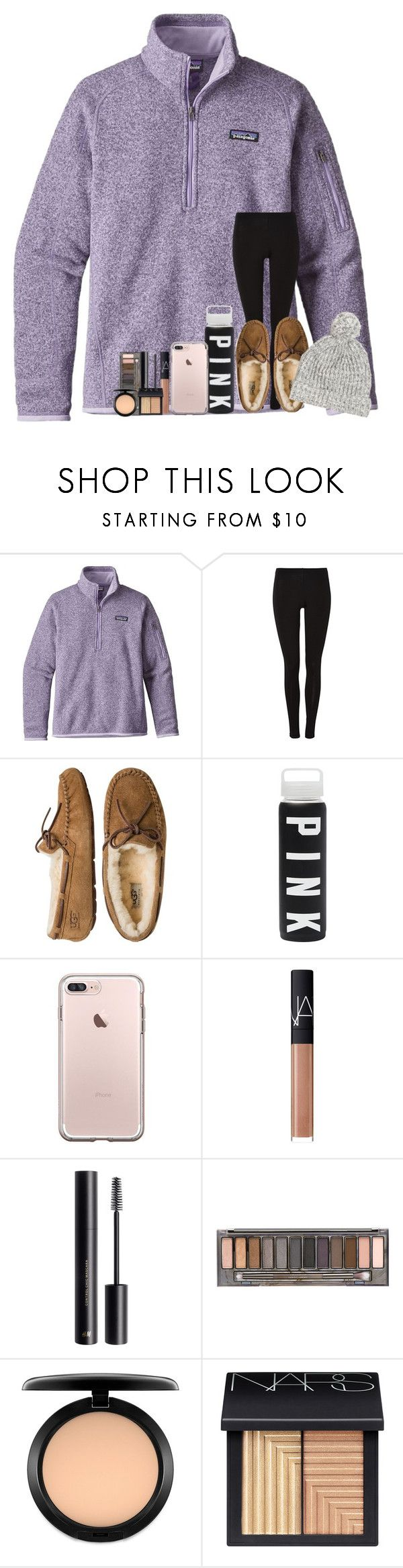"""""""Heading To The Mountains!🎿❄️❤️"""" by theafergusma ❤ liked on Polyvore featuring Patagonia, UGG Australia, NARS Cosmetics, H&M, Urban Decay, MAC Cosmetics and J.Crew"""