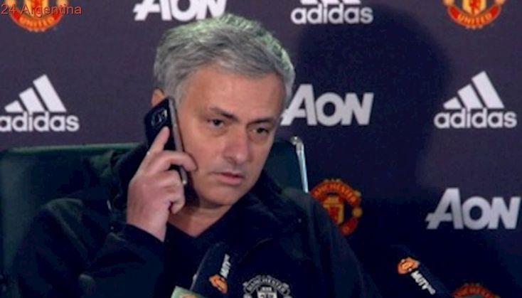 Manchester United duda en renovar el contrato de Mourinho