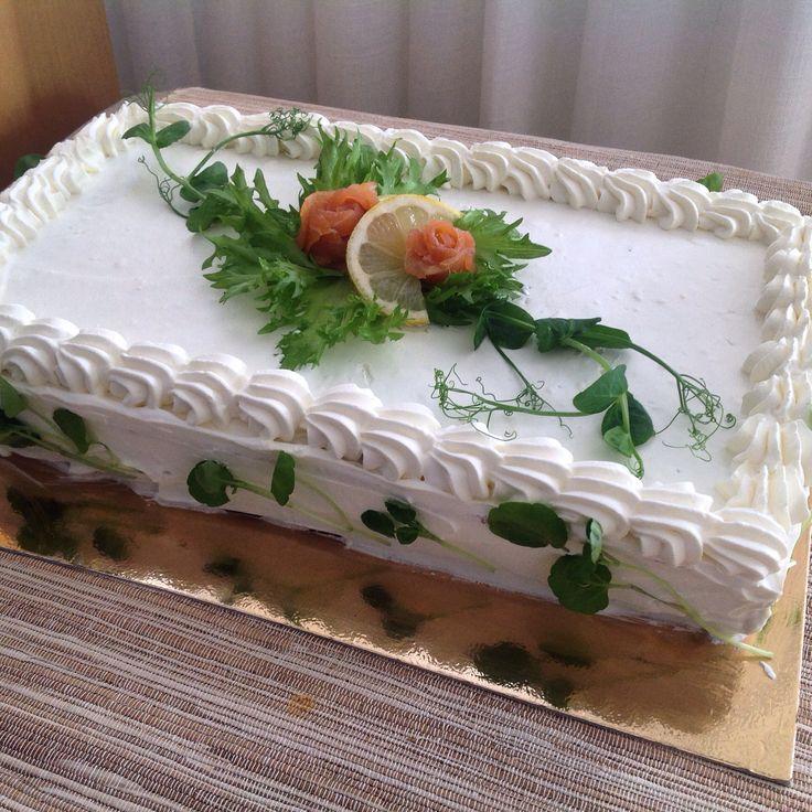 Lax sandwichcake, lohivoileipäkakku