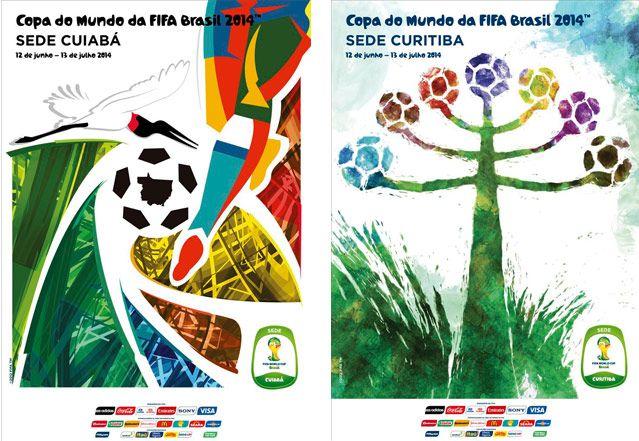 Doze sedes da Copa do Mundo lançam cartazes do evento. Veja todas as imagens | Site do Governo Brasileiro para Copa do Mundo da FIFA 2014