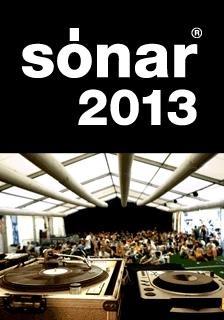 Sonar 2013 en Barcelona