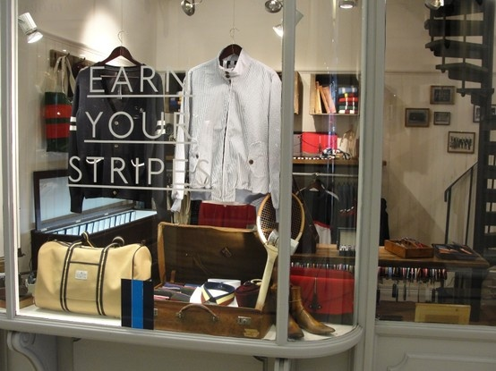 New SS'13 window displays in our Piccadilly store