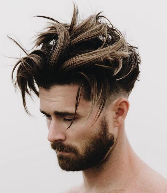 23 Best Men S Hair Highlights 2020 Styles Men Hair Highlights Black Hair With Highlights Mens Hair Colour