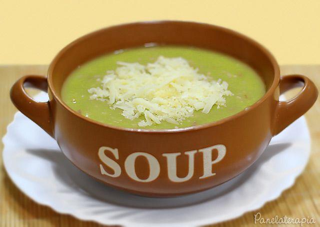 Sopa de Ervilha da Vó Elza ~ PANELATERAPIA - Blog de Culinária, Gastronomia e Receitas