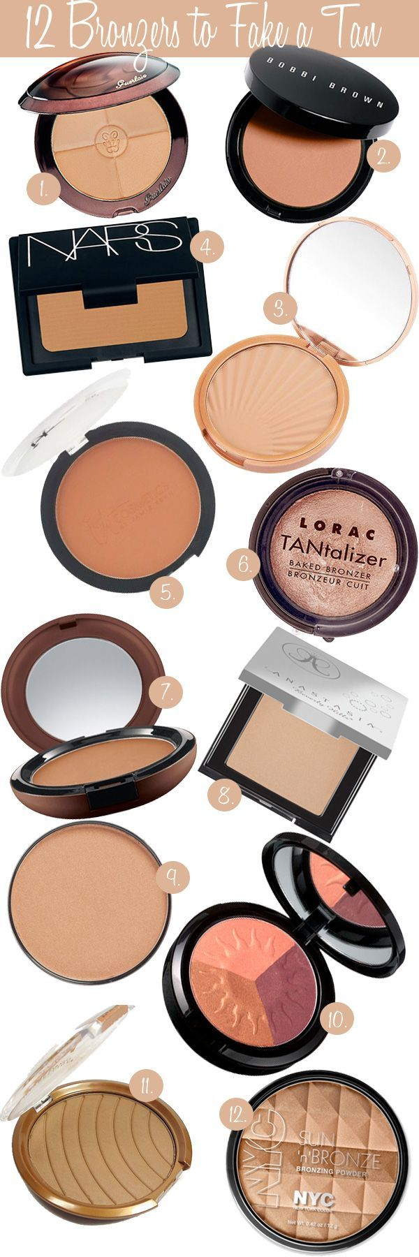 Best Bronzers to Fake a Tan