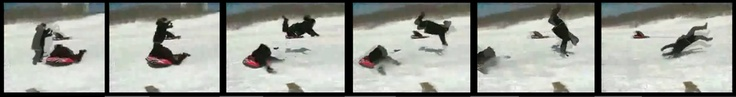 Reporter gets plowed over reporting a snow-tubing event from an unwise vantage point...  find this video on YouTube!!  http://www.youtube.com/watch?v=HRYgjs936JQ
