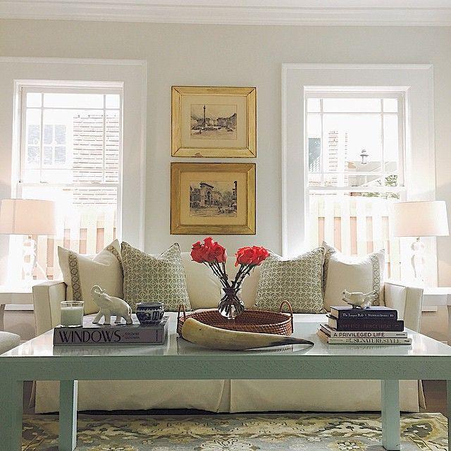 Small Living Room Window Treatments: No Window Treatments
