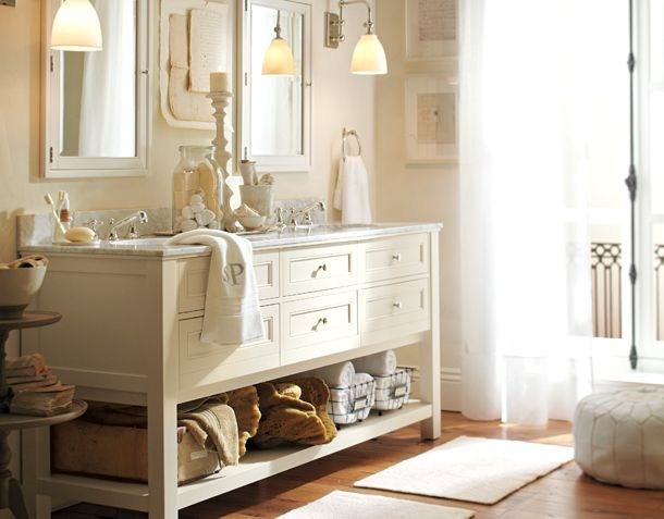 241 best images about bathroom cabinets vanities on pinterest double sink vanity. Black Bedroom Furniture Sets. Home Design Ideas