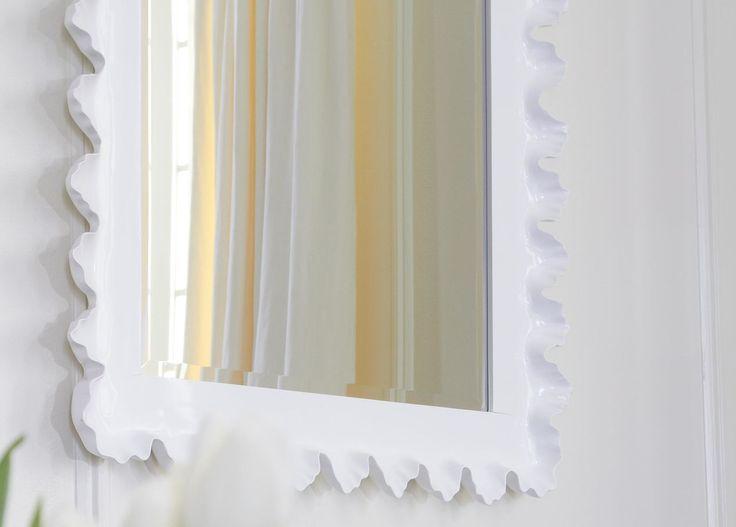 Scalloped Mirror - Ethan Allen