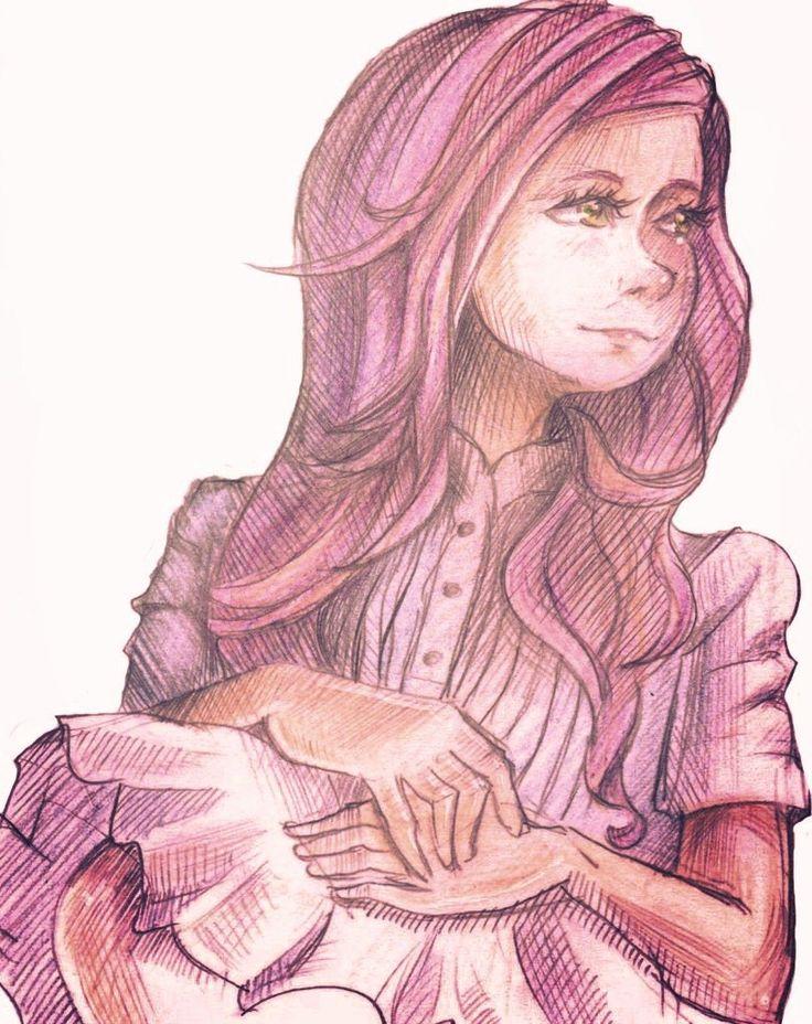Anime girl. Author: Oreki Rea