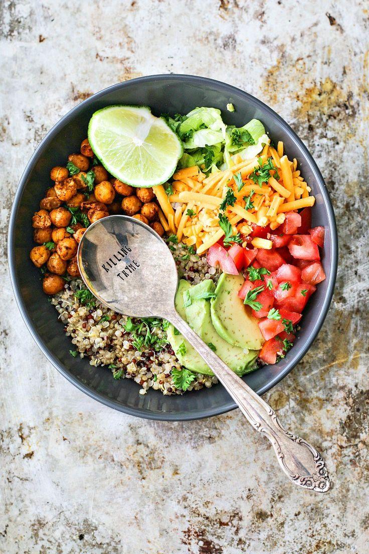 Un bowl façon tacos