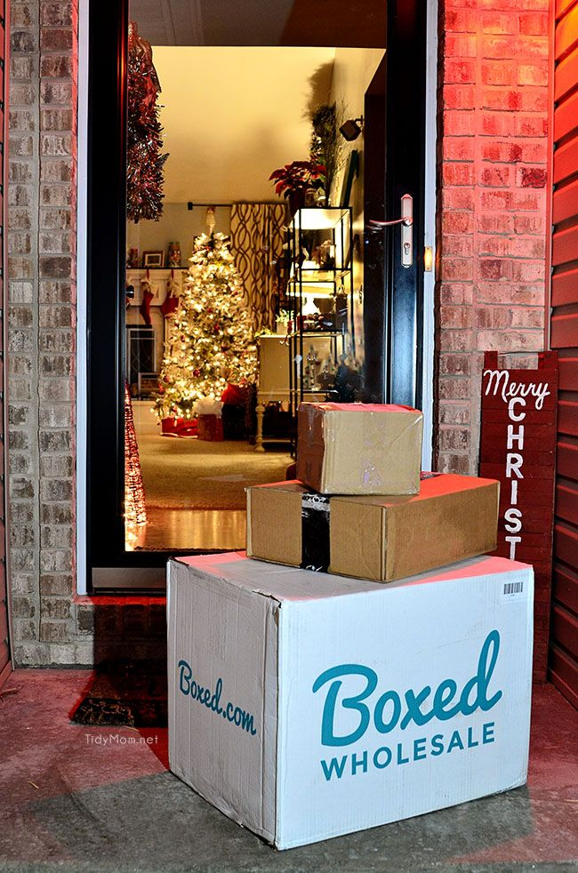 Bulk wholesale shopping delivered right to your door with NO MEMBERSHIP FEE from Boxed Wholesale.  Learn more at TidyMom.net
