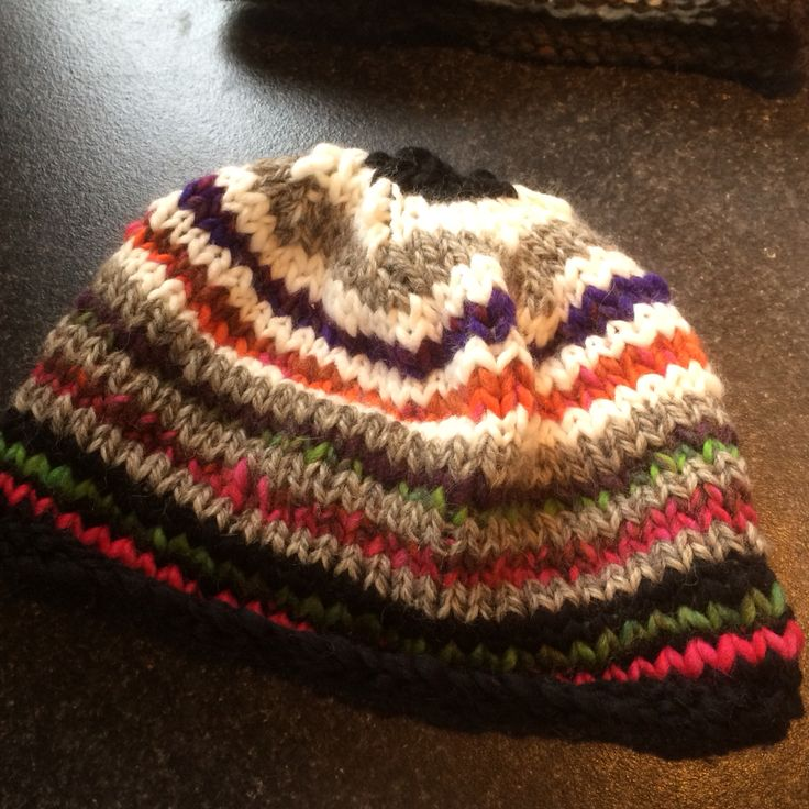 Beanie knitted with love