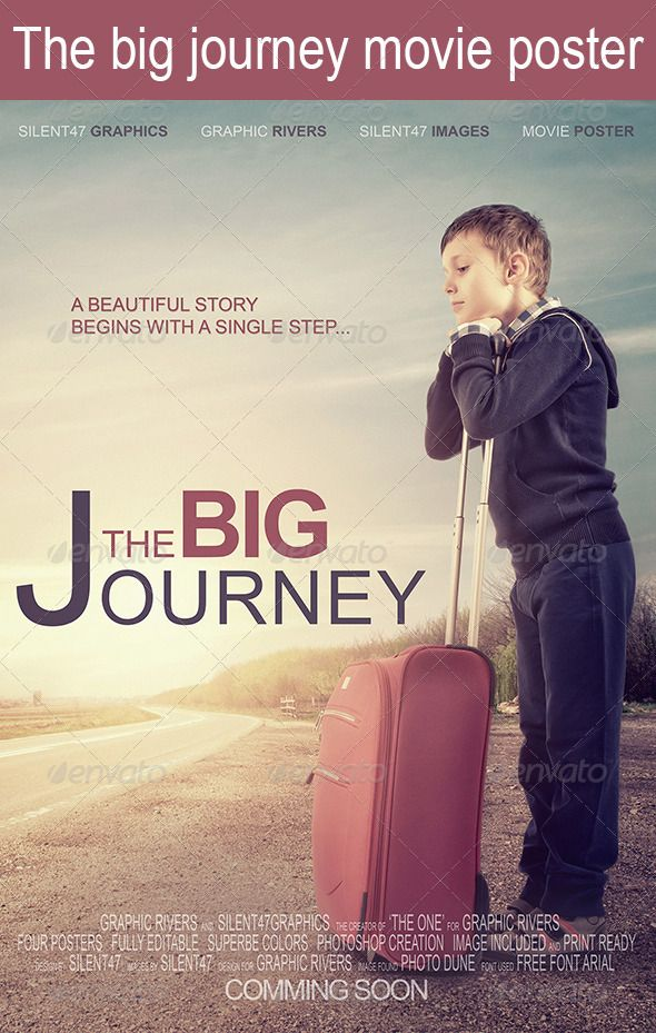 16 best movie posters images on pinterest film posters flyer the big journey movie poster pronofoot35fo Image collections