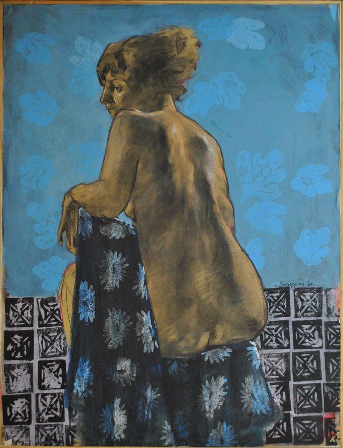 Original painting by Nikos Christoforakis Oil on canvas Size: 120x90cm