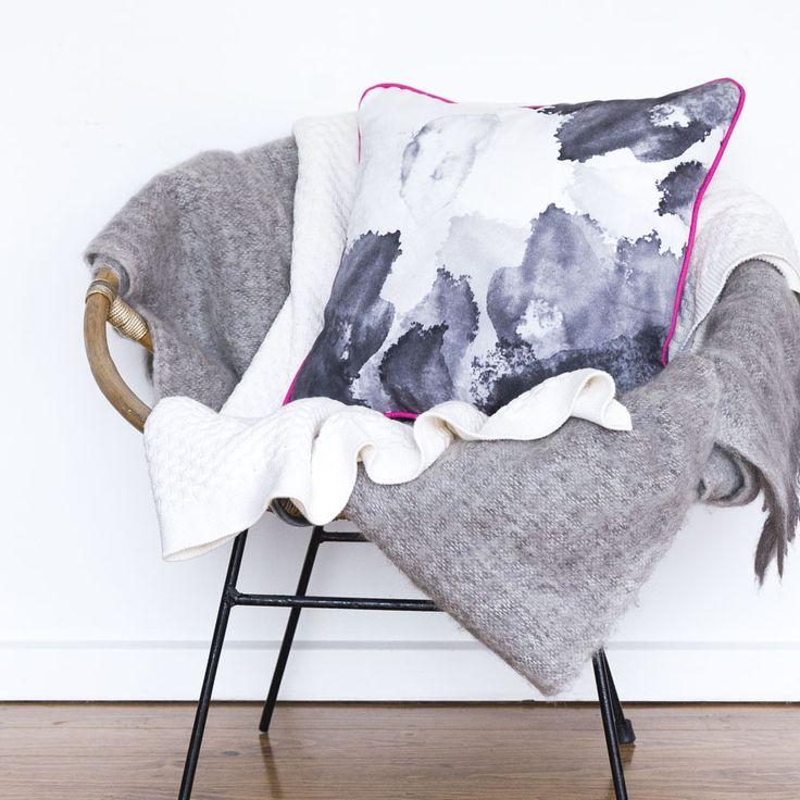 Pink Ink Cushion | Squeak