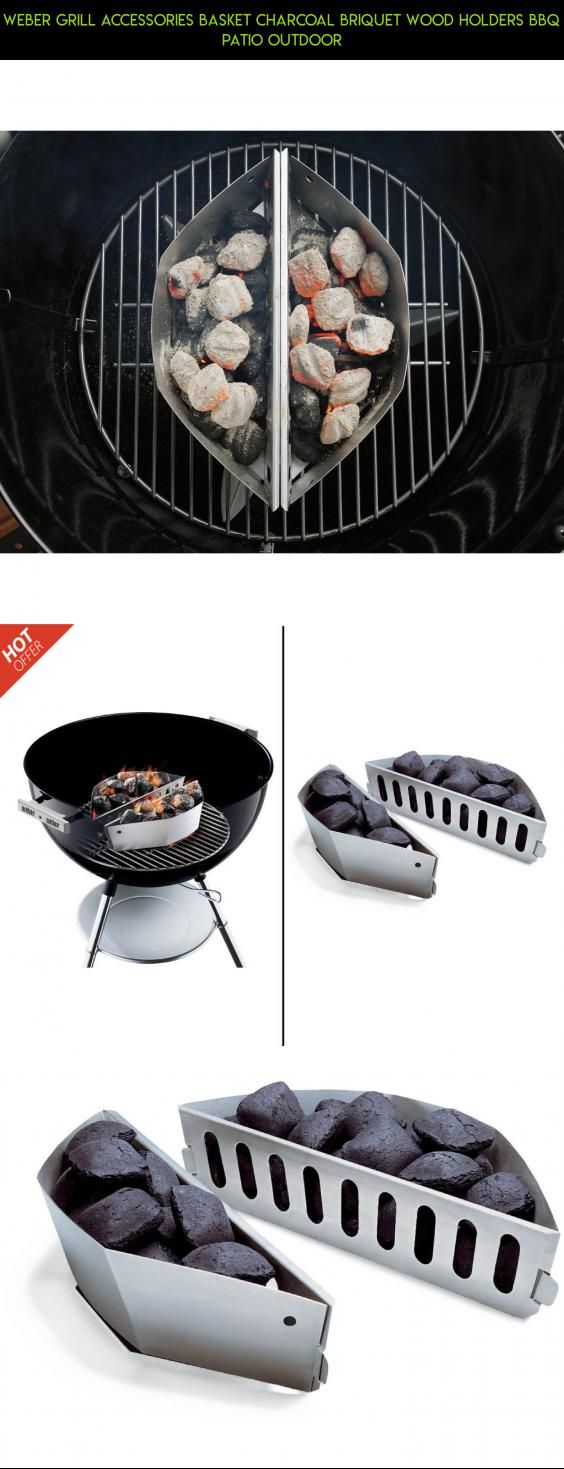 Weber Grill Accessories Basket Charcoal Briquet Wood Holders BBQ Patio Outdoor #drone #accessories #tech #weber #grills #shopping #racing #gadgets #parts #fpv #products #plans #technology #camera #kit