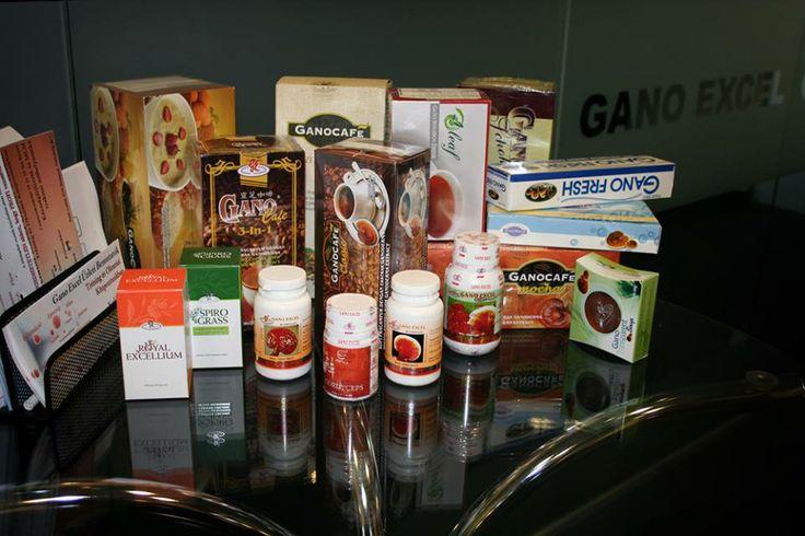 A Gano Excel által Magyarországon forgalmazott termékek