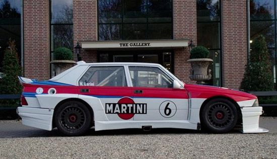 1987 75 Turbo Evoluzione IMSA with 1,8 lit Turbo and 300 HP
