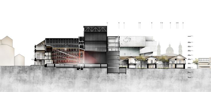 First International Competition: Extension of the Teatro Colon in Bogota, Colombia, Courtesy of MONTOYA LOPEZ AND ARCHITECTS