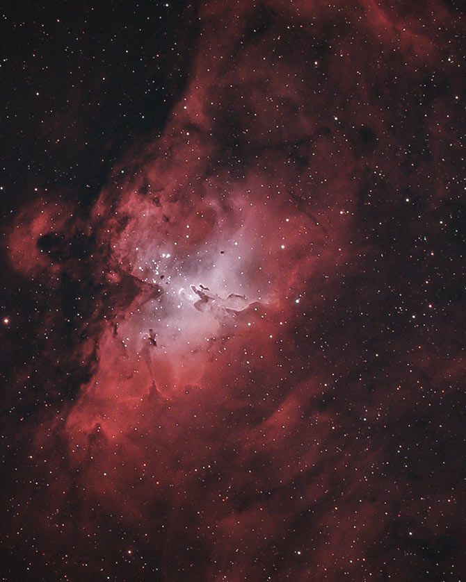 The Eagle Nebula Facts Photos And Location Of M16 In Serpens Eagle Nebula Nebula Astrophotography