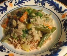 Recipe Creamy Herb and Garlic Chicken Medley by t_minnie - Recipe of category Main dishes - meat