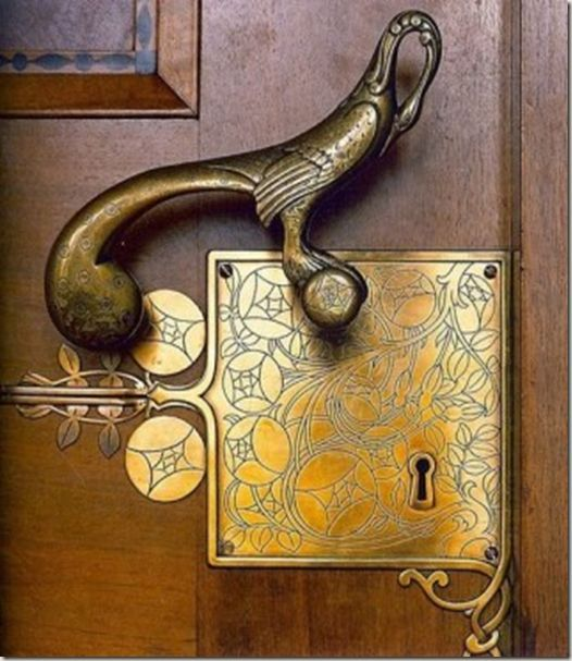 Amazing Art Deco door knob!