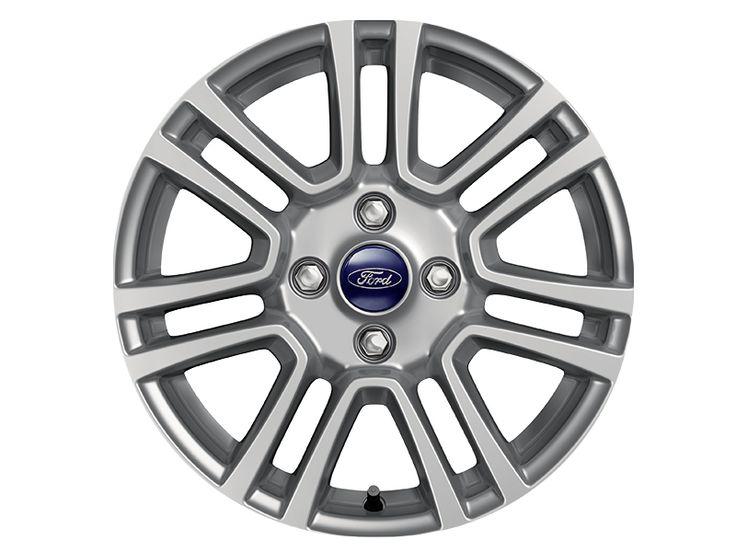 """Ford Tourneo Courier - Cerchi in lega 16"""" a 7x2 razze, argento."""