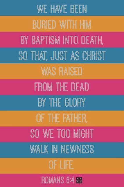 We too walk in newness of life. -Romans 6:4 | Awakenings