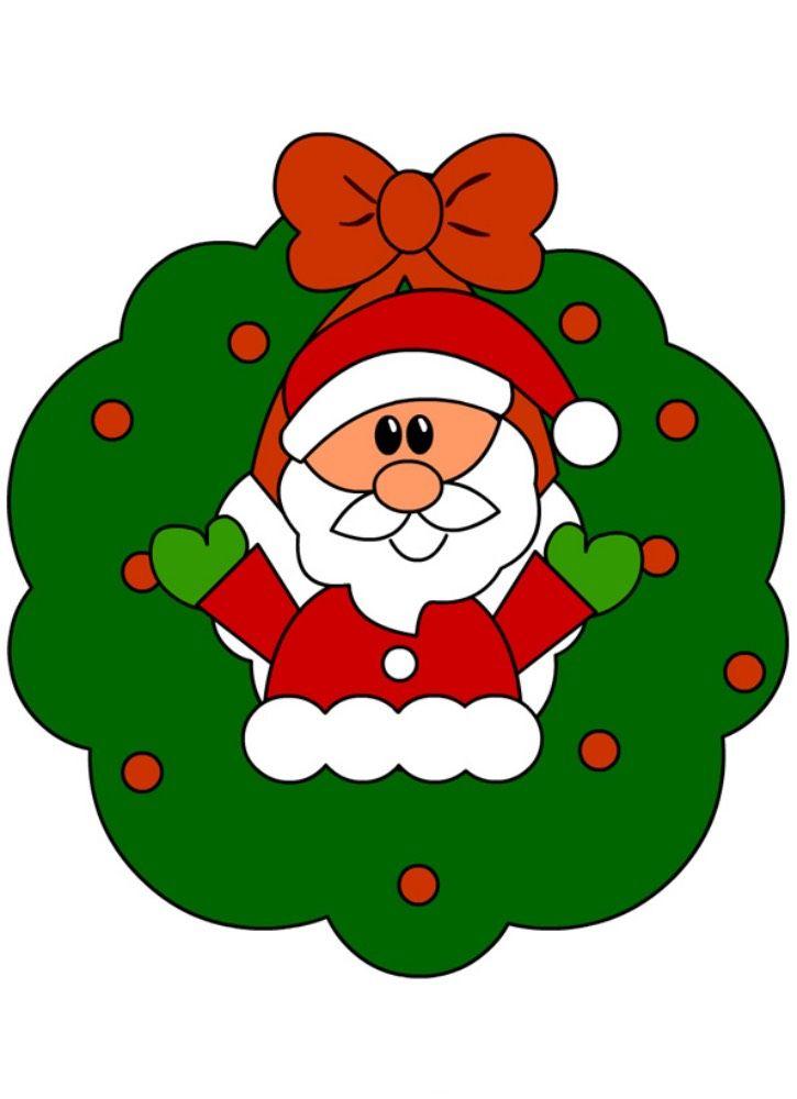 Boże Narodzenie Dekoracja święty Mikołaj 2 Boże Narodzenie