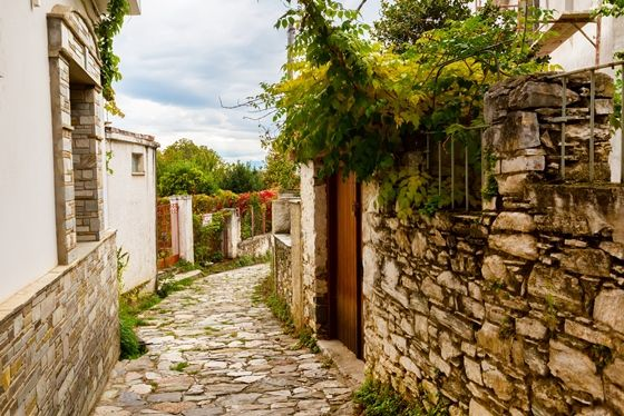 Visit Greece | Mount Pelion is home to 24 beautiful villages. Set against an idyllic backdrop of olive groves that shimmer in the sunlight, dense forests and lush fruit orchards, these stone-built villages are the true gems of Pelion.