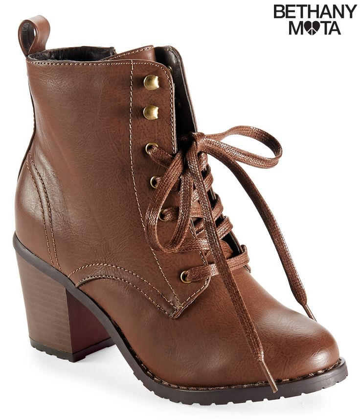 Lace-Up Combat Boot from Aeropostale