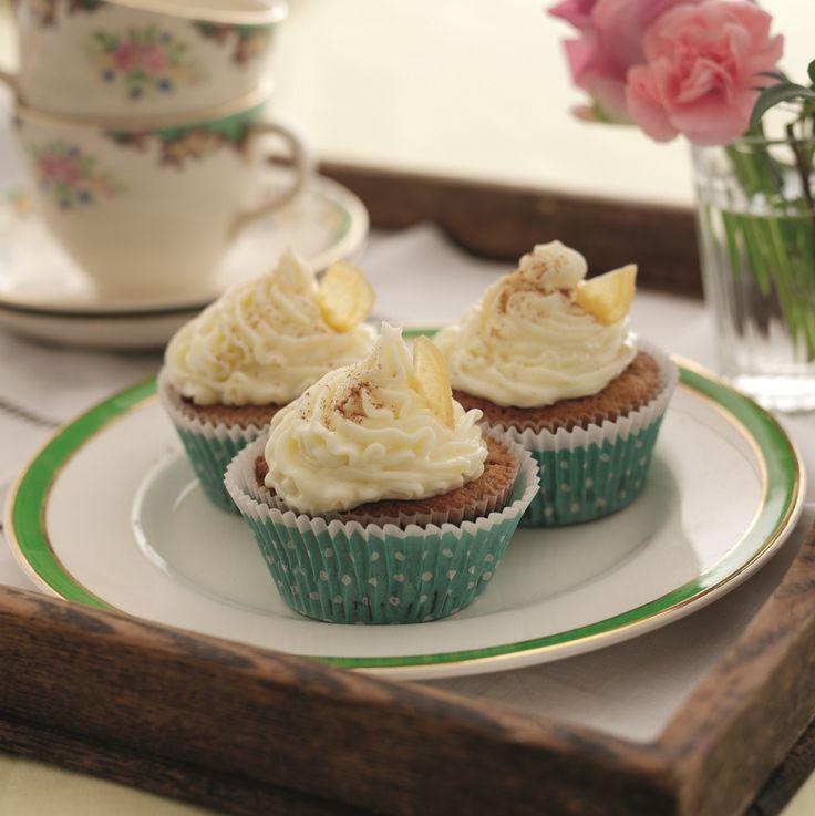 Pumpkin And Ginger Cupcakes Recipe   BakingMad.com