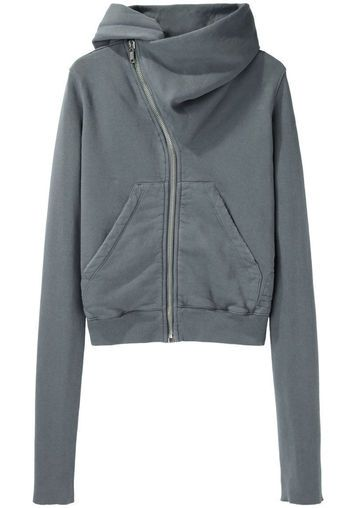D RK SH D W by Rick Owens | Asymmetric Zip Hoodie ** MUST HAVE **